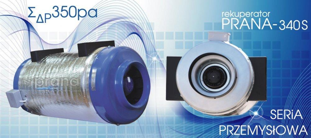 Kupić Rekuperator PRANA-340S (1100 m3/h)