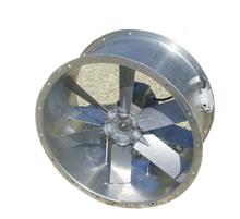 Wydajny wentylator osiowy kanałowy przeznaczony do ciągłej pracy w wysokich temperaturach