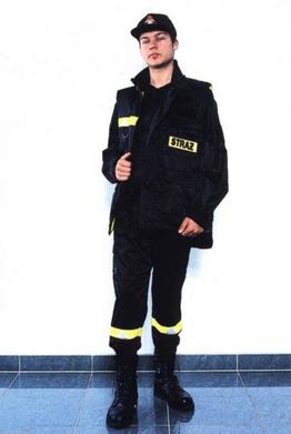 Kupić Czteroczęściowe ubranie koszarowe strażaka