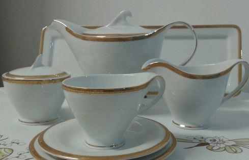 Kupić Zestawy do herbaty, Antonio Gold Serwis do herbaty na 6 osób