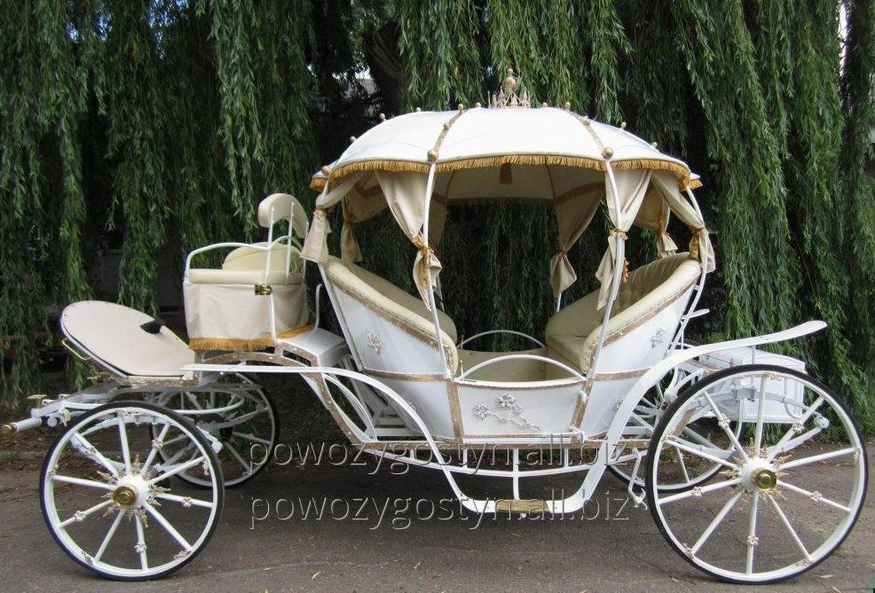 Kupić Kopciuszek - przepiękny powóz ślubny o jakim marzy każda młoda para.