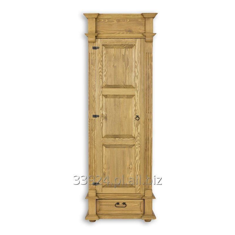 Kupić Szafa drewniana sosnowa rustykalna jedno drzwiowa SZY 05