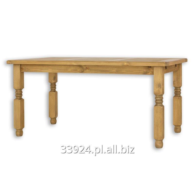 Kupić Stół drewniany rustykalny sosnowy woskowany MES 01