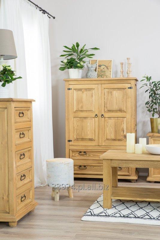 Kupić Komoda drewniana sosnowa woskowana rustykalna