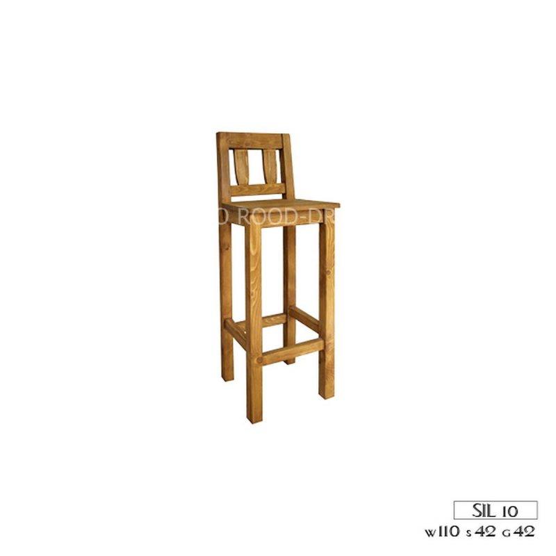 Kupić Krzesło drewniane barowe SIL 10