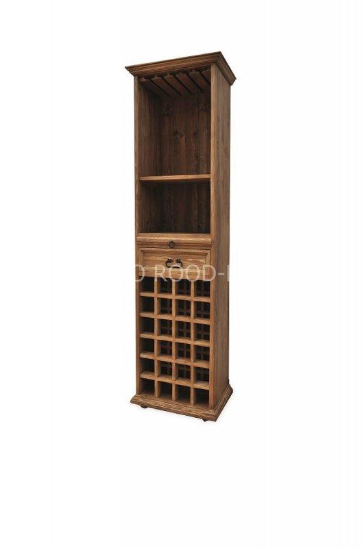 Kupić Witryna drewniana rustykalna sosnowa biblioteczka VIT 14