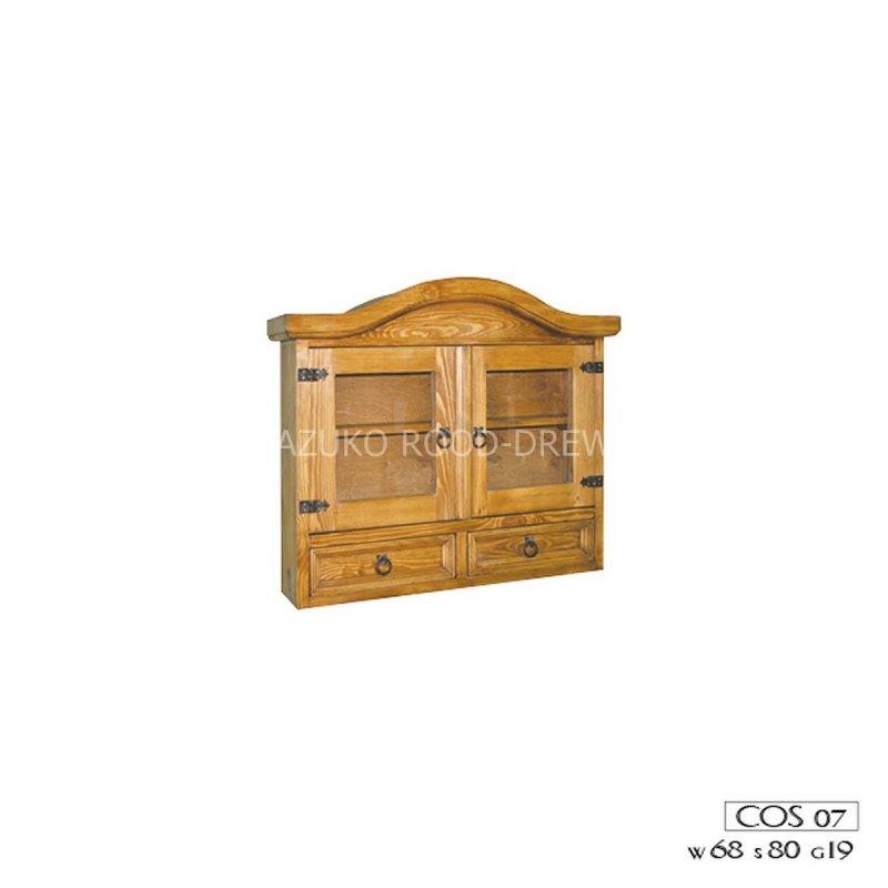 Kupić Szafka drewniana rustykalna wisząca COS 07