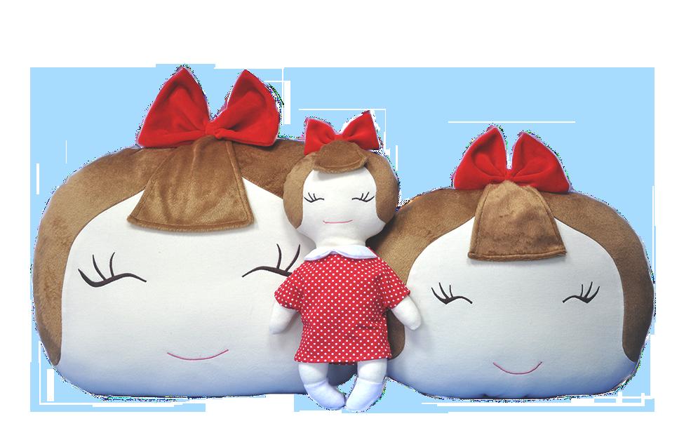 Kupić Zestaw TOLA - lalka i poduszka
