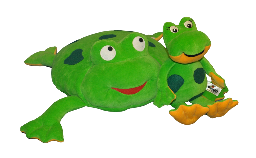 Kupić Zestaw poduszka i maskotka Żabka Ela