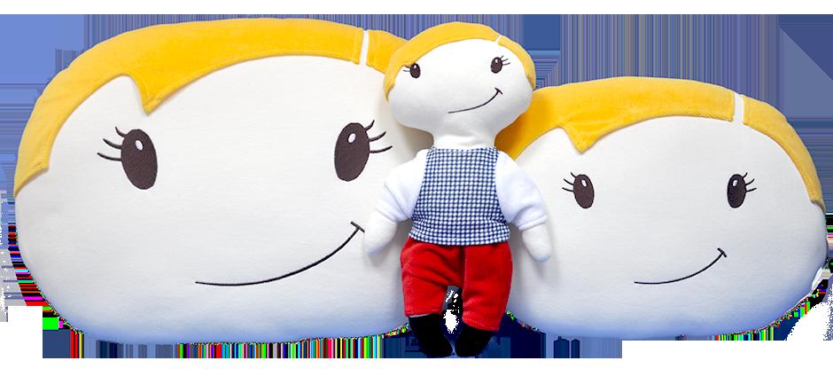 Kupić Zestaw Szymonek - lalka i poduszka
