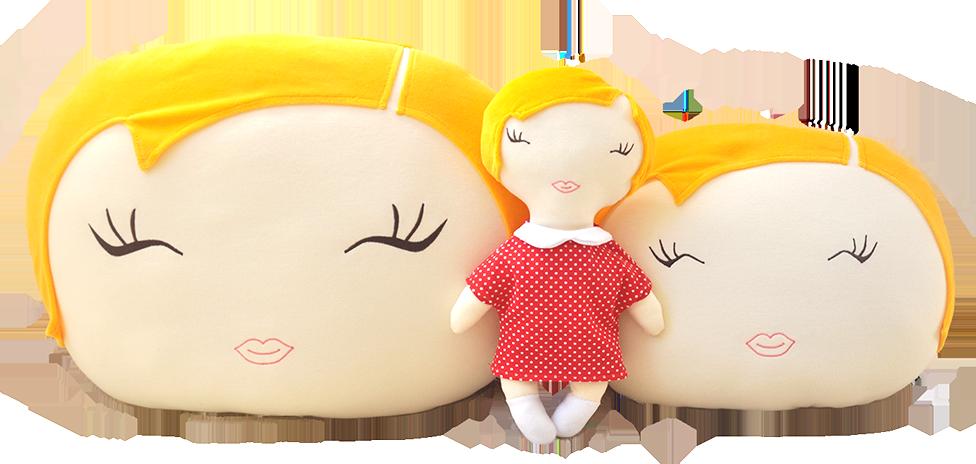 Kupić Zestaw SZYMCIA - lalka i poduszka