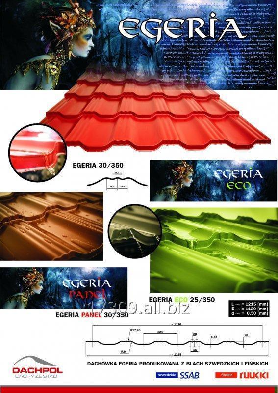 Kupić EGERIA Blachodachówka oraz blachy trapezowe produkowane z blach RUUKKI, SSAB, ArcelorM.