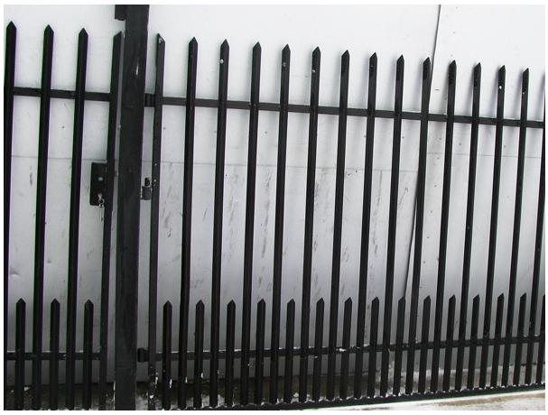 Brama z kątownika z furtką i ze słupkami 4 m + 1 m  http://bigstal.all.biz/