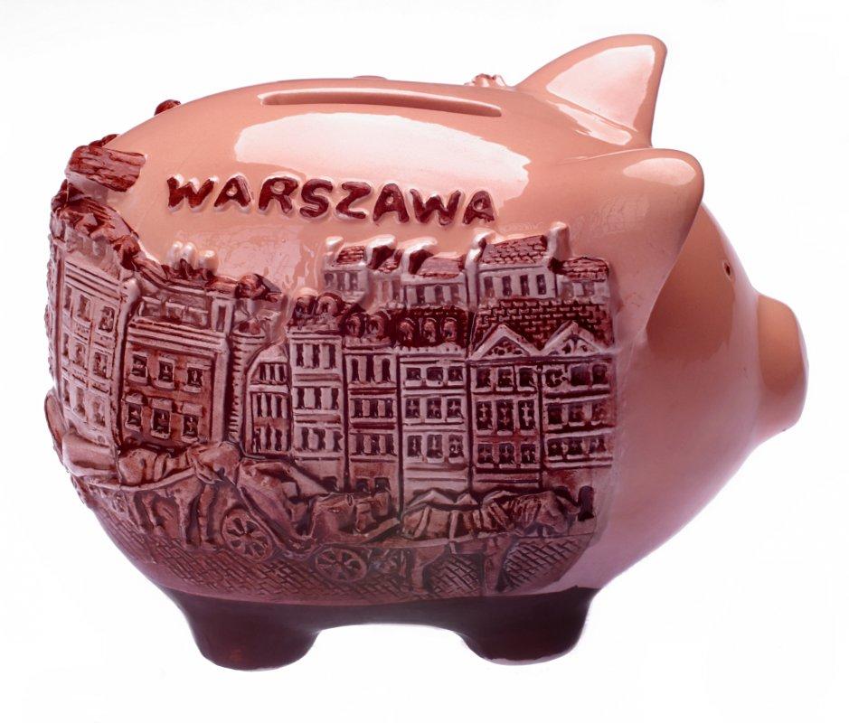 Kupić Pamiątka z Warszawy Skarbonka