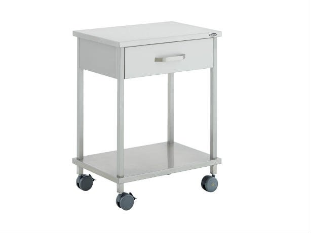 Stolik na instrumenty medyczne z szufladą Uzumcu 40162/40172