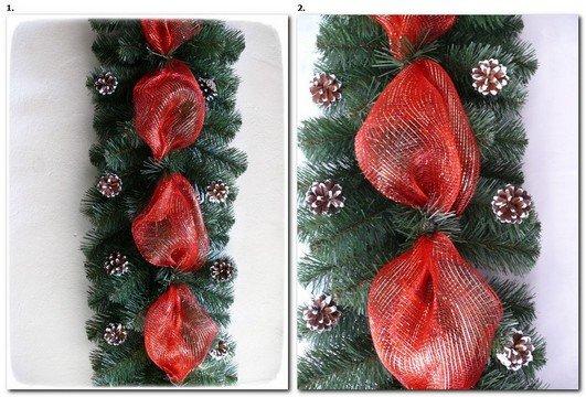 Kupić Girlanda dekorowana 270cm x30cm 200 tips