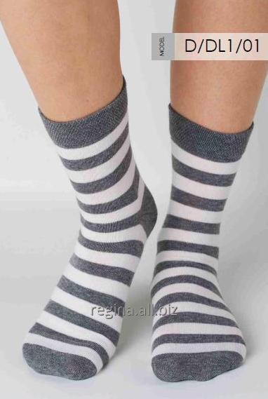 Kupić Skarpety damskie półdługie, skarpety bawełniane na eksport