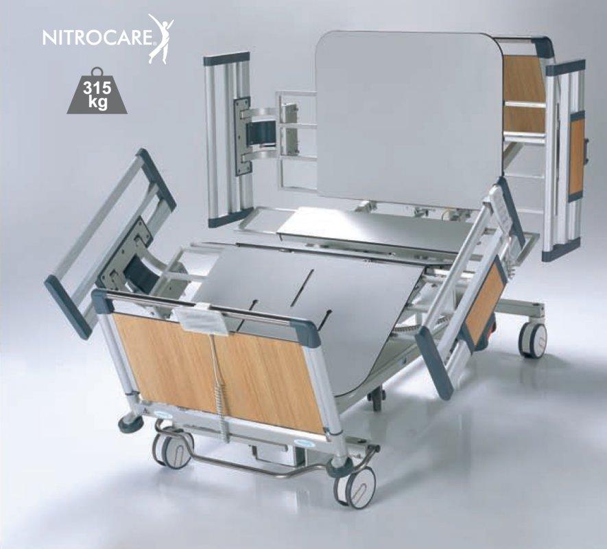 Łóżko szpitalne Bariatryczne NITROCARE HB 6220 COMPACT