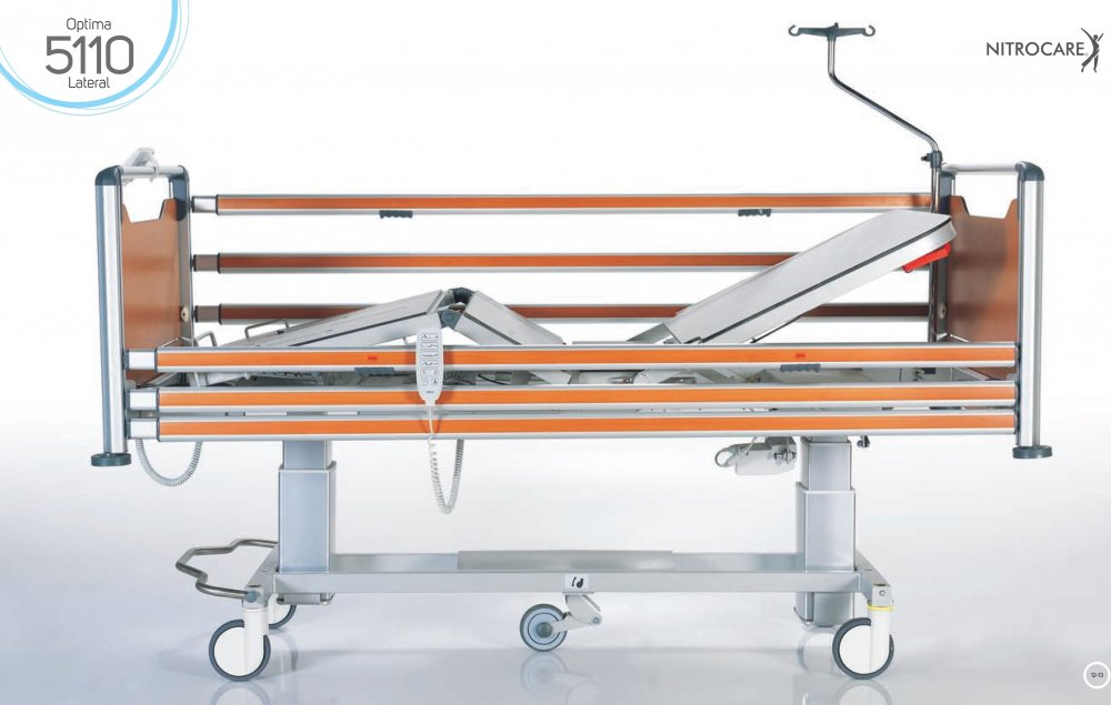 Łóżko szpitalne (OIOM) NITROCARE HB 5110 LATERAL OPTIMA