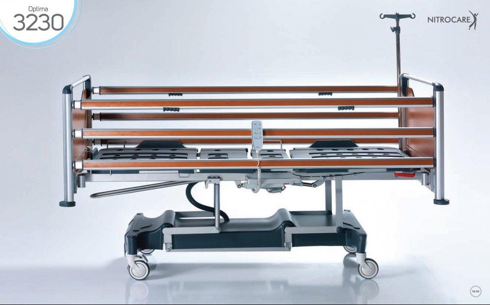 Łóżko szpitalne NITROCARE HB 3230 OPTIMA