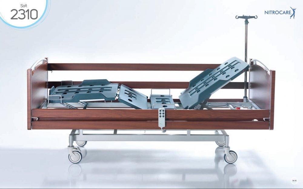 Łóżko szpitalne NITROCARE HB 2310 SOFT