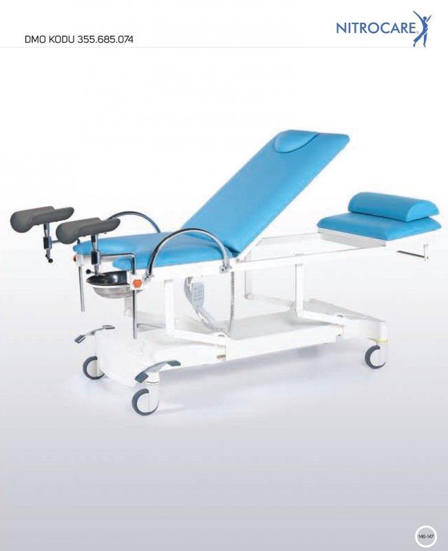 Fotel ginekologiczny NITROCARE JMM 01