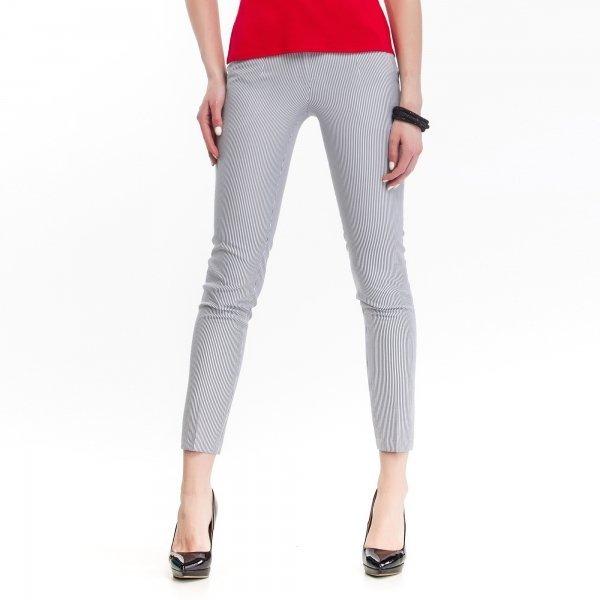 Kupić Eleganckie spodnie damskie w marynistyczne paski