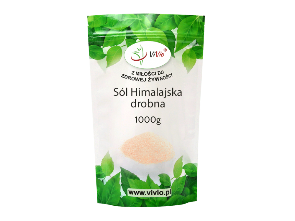 Sól himalajska drobna