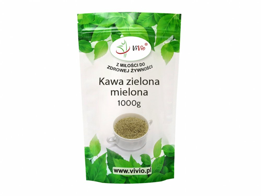 Kawa zielona mielona