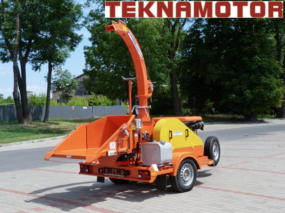Kupić Rozdrabniarka do gałęzi Skorpion 280 SDB nowa (producent firma Teknamotor)