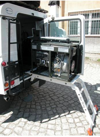 """Kupić Mobilny Zestaw Rejestracji i Analizy Sygnałów Radiolokacyjnych """"MZRiASR"""""""