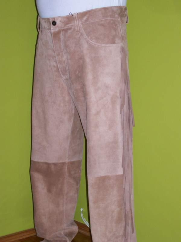 Kupić Spodnie skórzane męskie