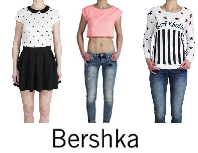 Kupić Bershka odzież damska kolekcja wiosna/lato 2014