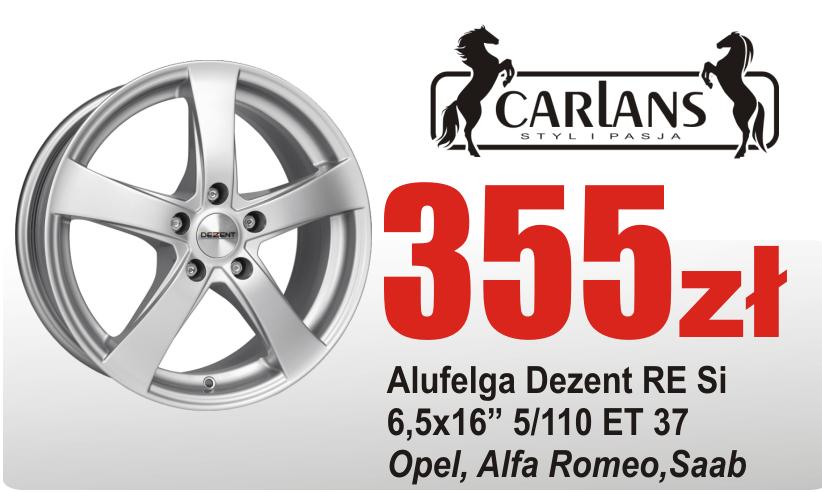 Kupić Alufelga alufelgi felga felgi Dezent RE Opel Astra 16 5/110 Saab sklep motoryzacyjny Carlans