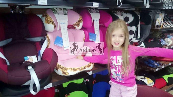 Kupić Fotelik samochodowy Maxi Cosi 15-36kg 4 ADAC Rodi AirProtect Kids' Choice CARLANS dla dziewczynki