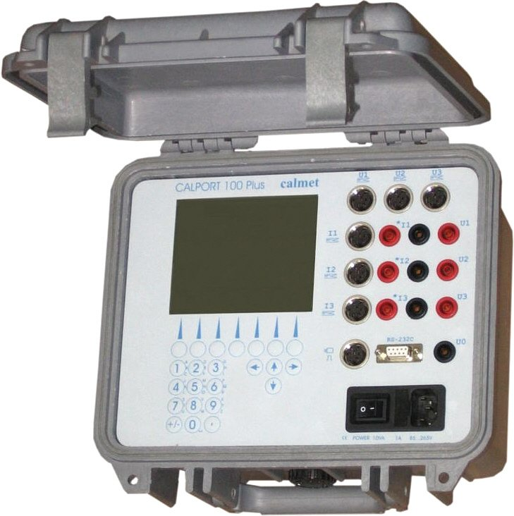 Kupić Calport 100Plus, trójfazowy analizator sieci, tester liczników energii i przekładników