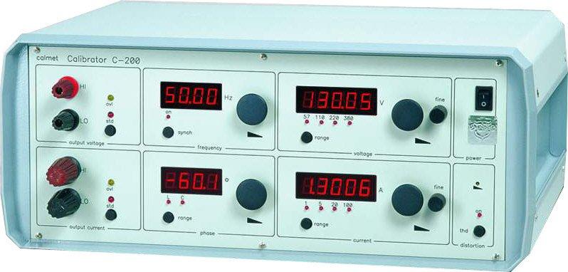 Kupić C200 Jednofazowy kalibrator mocy