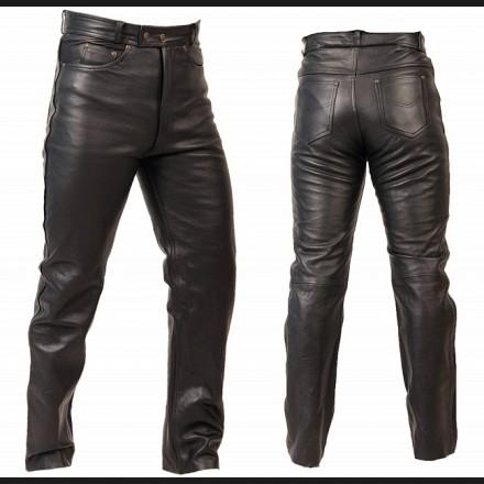 Kupić Spodnie skórzane męskie SSM004