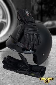 Kupić Rękawice skórzane dla motocyklistów