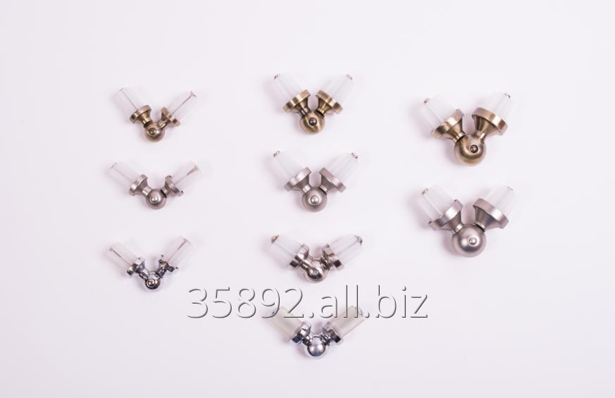 Kupić Łączniki kątowe do karniszy metalowych 16 mm, 19 mm, 25 mm
