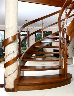 Kupić Eleganckie schody drewniane