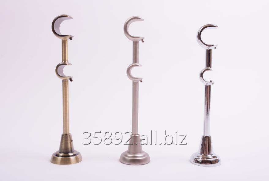 Kupić Wsporniki klasyczne podwójne 25_16 mm do karniszy metalowych