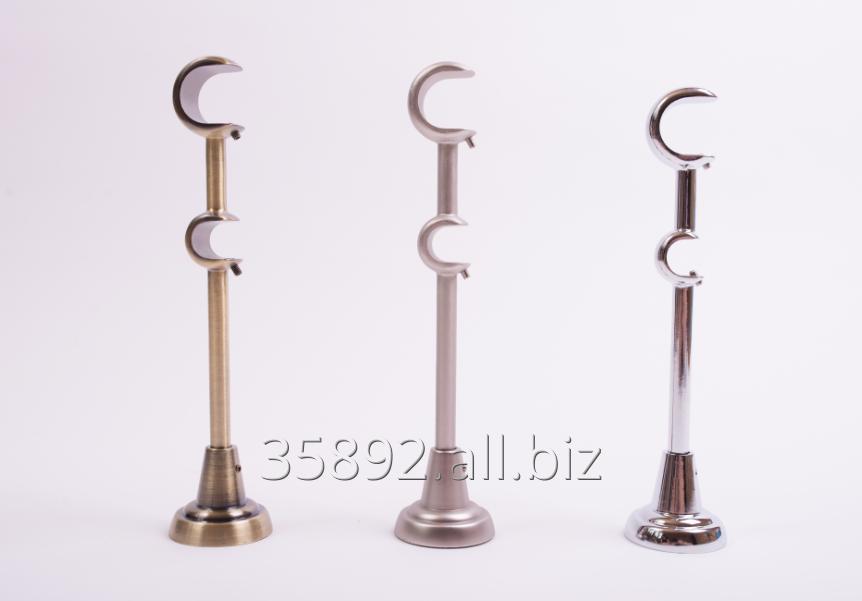 Kupić Wsporniki klasyczne podwójne 25_19 mm do karniszy metalowych