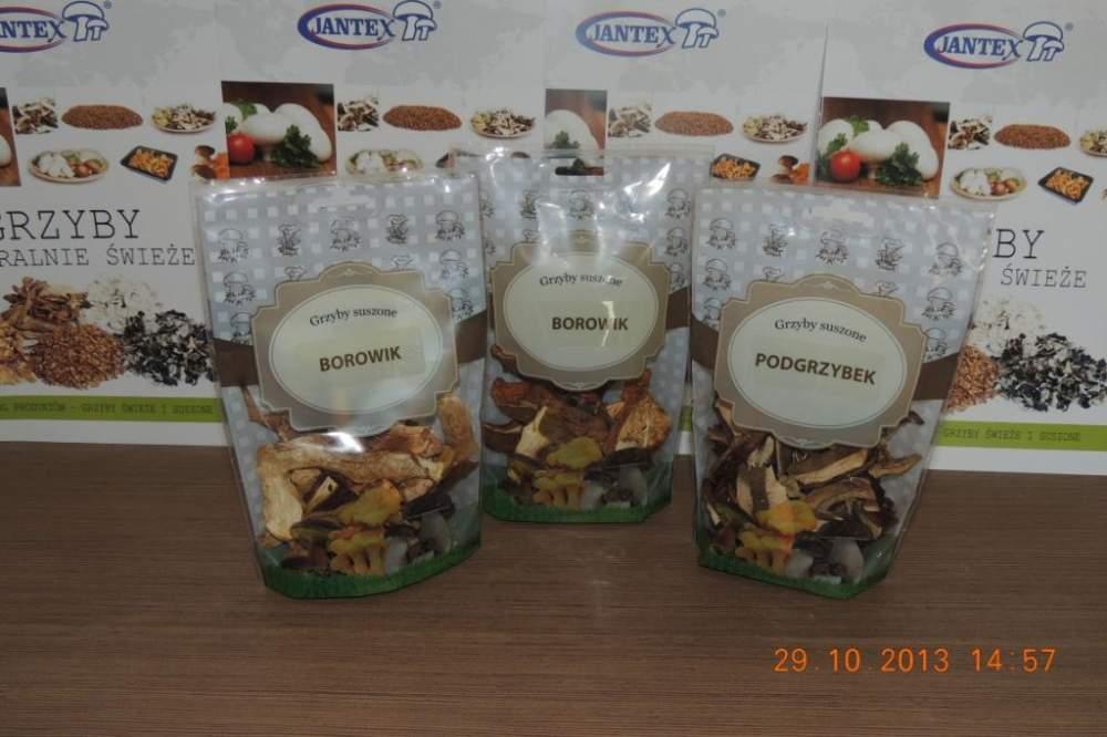 Podgrzybki, grzyby suszone, grzyby mrożone, susz z grzybów na eksport