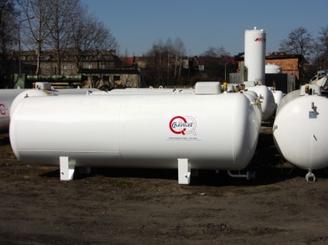 Kupić Zbiorniki na LPG naziemne z zaworami i wskaźnikiem napełnienia