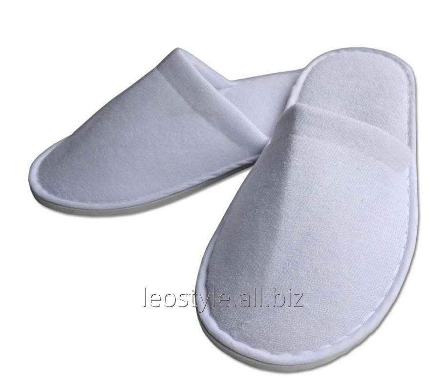 Buy Slippers covered thick velour