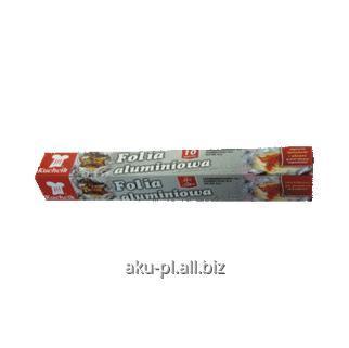 Kupić Folia aluminiowa w rolce 10m pakowana w kartonik.