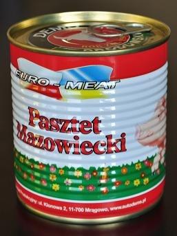 Kupić Pasztet Mazowiecki 410g