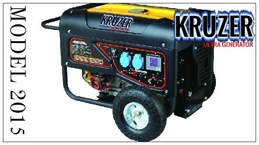 Kupić KRUZER Profesionalny Agregat Prądotwórczy 8,1kW AVR