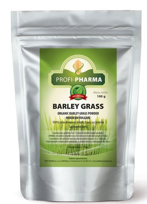 Kupić 100% sproszkowanej młodej trawy jęczmienia